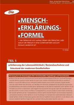 Die Mensch-Erklärungsformel (Teil 5) von Ostler,  K.
