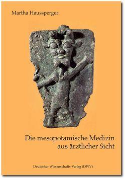 Die mesopotamische Medizin aus ärztlicher Sicht von Haussperger,  Martha