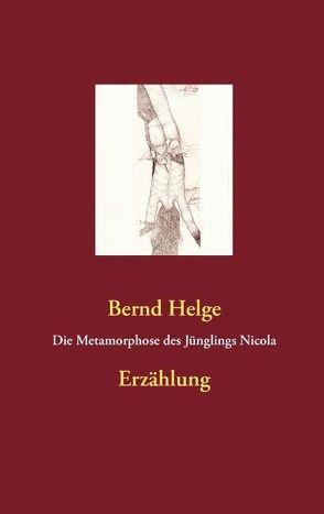 Die Metamorphose des Jünglings Nicola von Helge,  Bernd