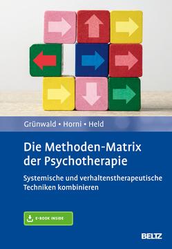 Die Methoden-Matrix der Psychotherapie von Grünwald,  Hugo, Held,  Torsten, Horni,  Beatrix