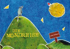 Die Mondreise von Hirsch,  Ines