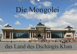 Die Mongolei das Land des Dschingis Khan (Wandkalender 2019 DIN A2 quer) von Brack,  Roland