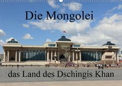 Die Mongolei das Land des Dschingis Khan (Wandkalender 2020 DIN A2 quer) von Brack,  Roland