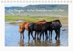 Die Mongolei – Natur, Nomaden und Klöster (Tischkalender 2019 DIN A5 quer) von O. Klecker,  Laurenz