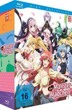 Die Monster Mädchen – Blu-ray 1 + Sammelschuber von Yoshihara,  Tatsuya