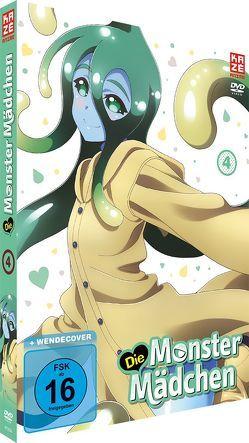 Die Monster Mädchen – DVD 4 von Yoshihara,  Tatsuya