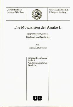 Die Mosaizisten der Antike II von Donderer,  Michael