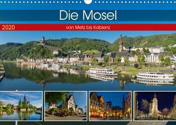 Die Mosel von Metz bis Koblenz (Wandkalender 2020 DIN A3 quer) von Pabst,  Michael