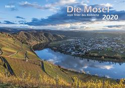 Die Mosel von Trier bis Koblenz 2020 Wandkalender A3 Spiralbindung von Klaes,  Holger