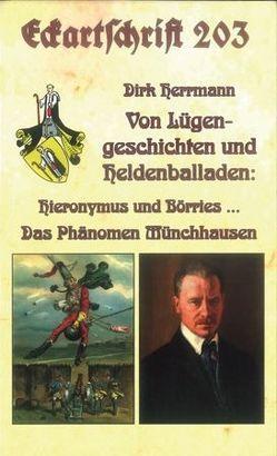 Die Münchhausens. Von Lügengeschichten und Heldenballaden von Herrmann,  Dirk