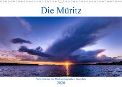 Die Müritz – Naturparadies der Mecklenburgischen Seenplatte (Wandkalender 2020 DIN A3 quer) von Pretzel - FotoPretzel,  André