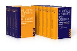Die Musik in Geschichte und Gegenwart von Finscher,  Ludwig