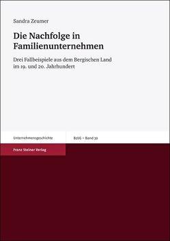 Die Nachfolge in Familienunternehmen von Zeumer,  Sandra