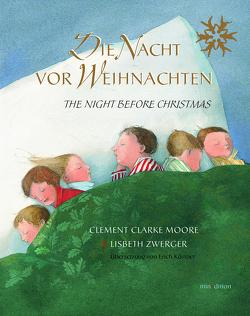Die Nacht vor Weihnachten / mini-minedition von Kästner,  Erich, Moore,  Clement Clarke, Zwerger,  Lisbeth