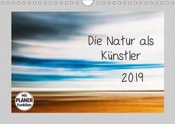 Die Natur als Künstler (Wandkalender 2019 DIN A4 quer) von Karius,  Kirsten