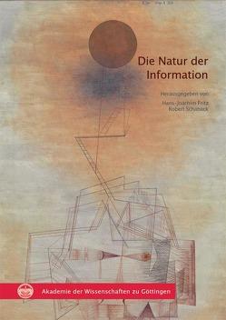 Die Natur der Information von Fritz,  Hans-Joachim, Schaback,  Robert