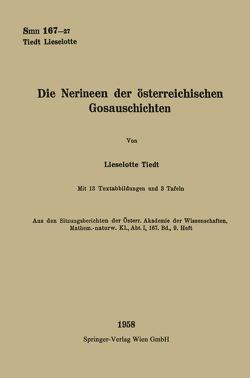 Die Nerineen der österreichischen Gosauschichten von Tiedt,  Lieselotte