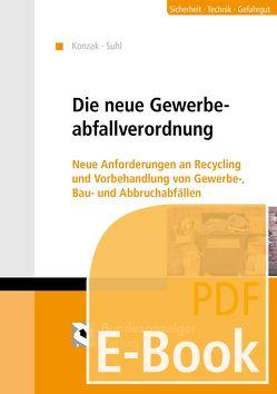 Die neue Gewerbeabfallverordnung (E-Book) von Konzak,  Olaf, Suhl,  Christian