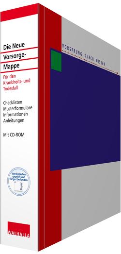 Die Neue Vorsorge-Mappe mit CD-ROM von Blauth,  Michael, Depré,  Peter, Jenal,  Dr. Oliver, Lambert,  Antje, Popp,  Dr. Wolfgang