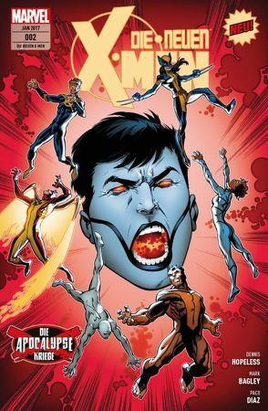 Die neuen X-Men von Bagley,  Mark, Hopeless,  Dennis