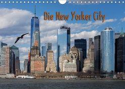 Die New Yorker City (Wandkalender 2018 DIN A4 quer) von Tangermann,  Franz