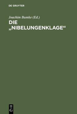 """Die """"Nibelungenklage"""" von Bumke,  Joachim"""