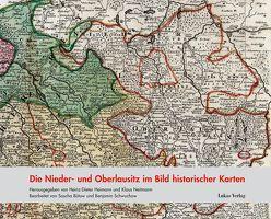 Die Nieder- und Oberlausitz im Bild historischer Karten von Bütow,  Sascha, Heimann,  Heinz-Dieter, Neitmann,  Klaus, Schwuchow,  Benjamin