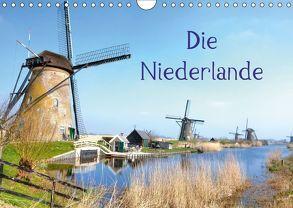 Die Niederlande (Wandkalender 2018 DIN A4 quer) von Kruse,  Joana