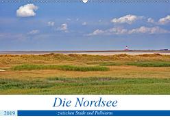 Die Nordsee zwischen Stade und Pellworm (Wandkalender 2019 DIN A2 quer) von Braunleder,  Gisela