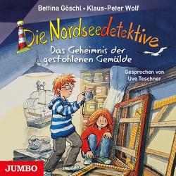 Die Nordseedetektive. Das Geheimnis der gestohlenen Gemälde [8] von Goeschl,  Bettina, Teschner,  Uve, Wolf,  Klaus-Peter