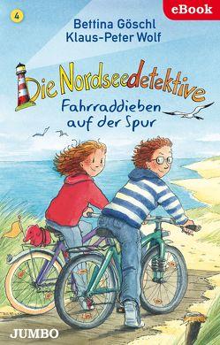 Die Nordseedetektive. Fahrraddieben auf der Spur von Goeschl,  Bettina, Wolf,  Klaus-Peter