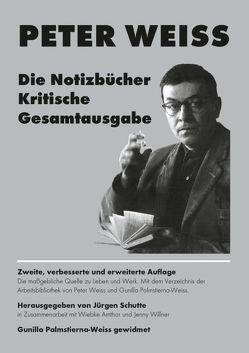 Die Notizbücher. Kritische Gesamtausgabe von Amthor,  Wiebke, Schutte,  Jürgen, Weiss,  Peter, Willner,  Jenny