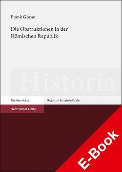 Die Obstruktionen in der Römischen Republik von Görne,  Frank