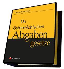 Die österreichischen Abgabengesetze von Hassler,  Paul