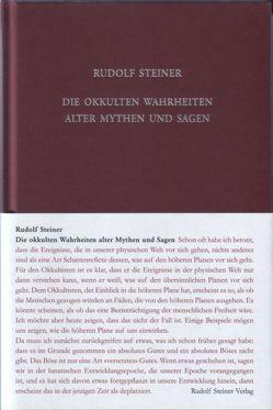 Die okkulten Wahrheiten alter Mythen und Sagen von Rudolf Steiner Nachlassverwaltung, Steiner,  Rudolf, Trapp,  Ulla, Wartburg,  Helmut von