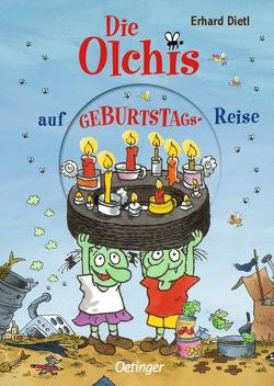 Die Olchis auf Geburtstagsreise von Dietl,  Erhard