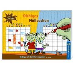 Die Olchis Blockspiel Müllsuchen von Dietl,  Erhard
