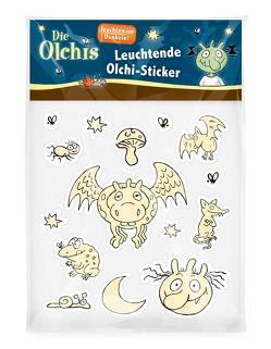Die Olchis Leuchtende Olchi-Sticker von Dietl,  Erhard