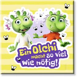 """Die Olchis Magnet """"So viel wie nötig"""" von Dietl,  Erhard"""