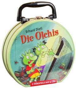 Die Olchis – Mein Hörbuch-Koffer (4CD) von Dietl,  Erhard