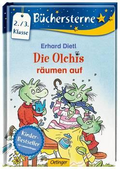 Die Olchis räumen auf von Dietl,  Erhard