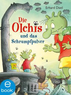 Die Olchis und das Schrumpfpulver von Dietl,  Erhard