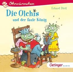 Die Olchis und der faule König von Brosch,  Robin, Dietl,  Erhard, Gustavus,  Frank, Poppe,  Kay
