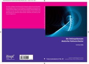 Die Onlinepräsenzen deutscher Kulturorchester von Lüke,  Corinna