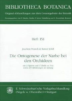 Die Ontogenese der Narbe bei den Orchideen von Prutsch,  Joachim, Schill,  Rainer