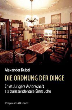 Die Ordnung der Dinge von Rubel,  Alexander