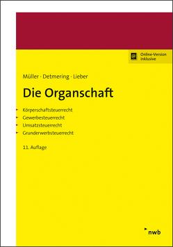 Die Organschaft von Detmering,  Marcel, Lieber,  Bettina, Mueller,  Thomas