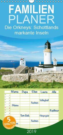 Die Orkneys: Schottlands markante Inseln – Familienplaner hoch (Wandkalender 2019 , 21 cm x 45 cm, hoch) von CALVENDO