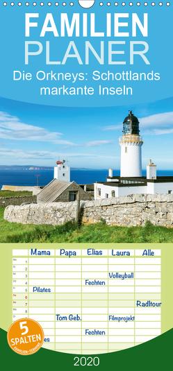 Die Orkneys: Schottlands markante Inseln – Familienplaner hoch (Wandkalender 2020 , 21 cm x 45 cm, hoch) von CALVENDO