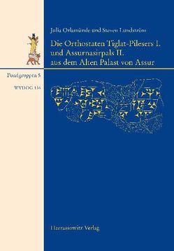 Die Orthostaten Tiglat-Pilesers I. und Assurnasirpals II. aus dem Alten Palast von Assur von Lundström,  Steven, Orlamünde,  Julia